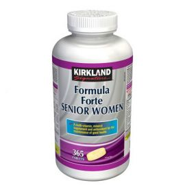 Kirkland Signature Formula Forte Senior Women 365 tablets