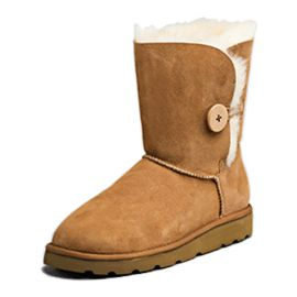 "Sheepskin Boot 10"" Adult Size Ladies 6"