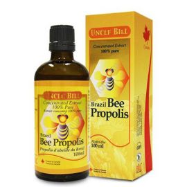 Uncle Bill Brazil Bee Propolis Concentrated Extract 100% 100ml