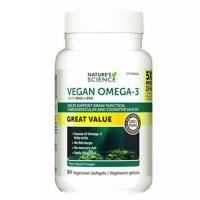 Nature's Science Vegan Omega-3, 84 Capsules