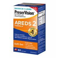 PreserVision Eye Vitamin and Mineral Supplement AREDS2 Formula 60 Softgel Capsules