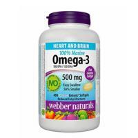 webber naturals 100% Marine Omega-3 Softgels, 400-count