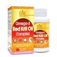 Bill Omega-3 Red Krill Oil Complex 60softgels
