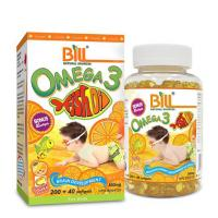 Bill Omega-3 Fish Oil for Kids with Natural Orange Flavour 500mg 240softgels