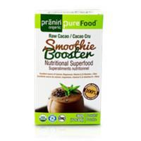 Pranin Organic PureFood Smootie Booster-Raw Cacao 12x30g