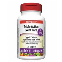 Webber Naturals Triple Action Joint Care 75 caplets