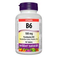 Webber Naturals Vitamin B6 90 Tablets