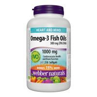 Webber Naturals Omega-3 300 mg 210 Softgels