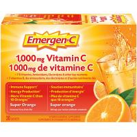 Emergen-C 1000mg Vitamin C Super Orange 30sachets