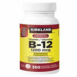 Kirkland Signature Vitamin B12 1200mcg 360 Tablets