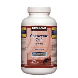 Kirkland Signature Coenzyme Q10 Natural Source 100mg 300softgels