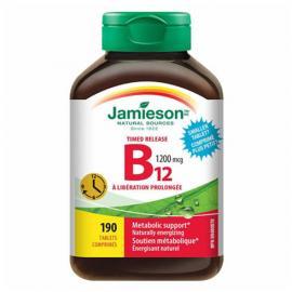 Jamieson Timed Release Vitamin B12 1200 mcg 190 tablets