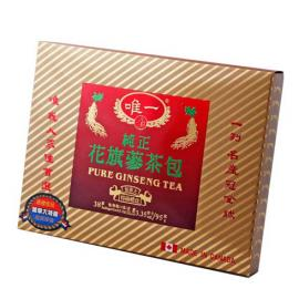 Unique Canadian Pure Ginseng Tea 38bages