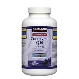 Kirkland Signature Extra Strength Coenzyme Q10 Natural Source 200mg 225softgels