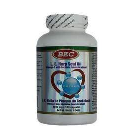 BEC L.E. Seal oil Omega-3 1000mg 100capsules