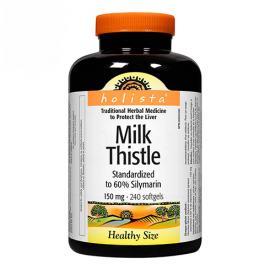 Holista milk thistle 150 mg 240 softgels