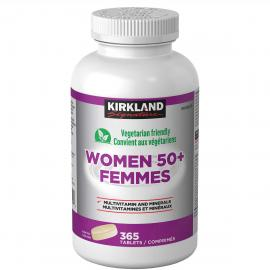 Kirkland Signature Women 50+ Multivitamin 365 tablets