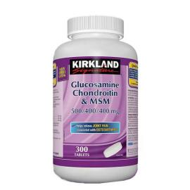 Kirkland Signature Glucosamine, Chondroitin and MSM 300tablets