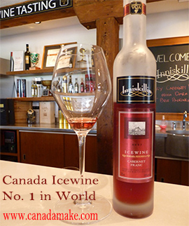 Canadian Icewine,  Famous Product