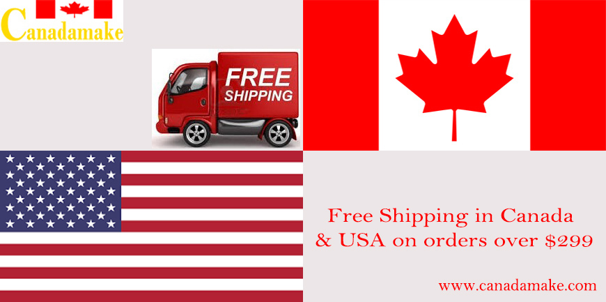 Free Shipping in Canada and USA